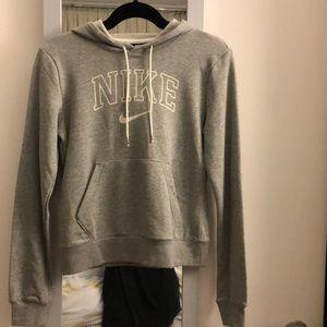 Brand new Nike grey hoodie, XS